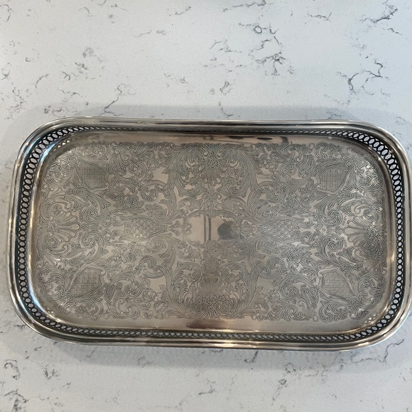 Oneida Silver Plate Serving Tray